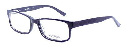 Harley Davidson HD0745 090 Men's Eyeglasses Frames 55-17-140 Shiny Blue + CASE