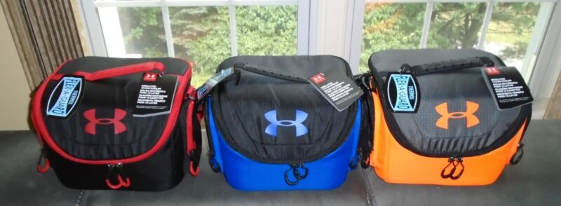 Under Armour 12 Can Cooler Thermos Insulated Hard Interior ALMOST GONE! NWT