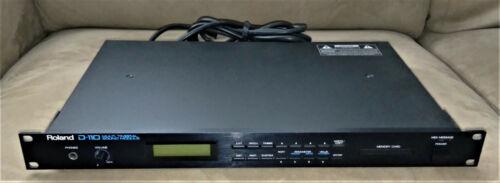 Roland D-110 Rack Mount Multi Timbral Sound Module Unit - Excellent Condition!