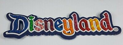 DISNEY LAND MAGNET ICONS BRIGHT COLORS & CHARACTERS COLORS VINTAGE