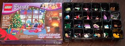 Lego Friends Advent Calendar 41040 24 Gifts Used Complete 6061797