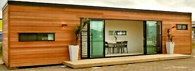 320 Sq Ft 1 Bd1 Bath Luxury Wood Finish Shipping Container Home Sellerfinance