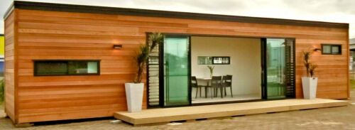 320 Sq Ft 1 Bd/1 Bath Lux Wood Finish Shipping Container Hm Financing Available!