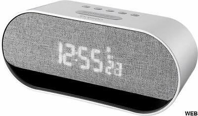 Reloj / Despertador Con Función Altavoz Bluetooth Oregon Scientific CIR600