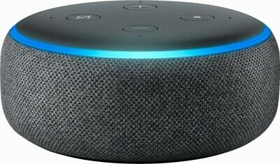 Amazon Echo Dot 3rd Generation w/ Alexa Voice Media Device - Charcoal...