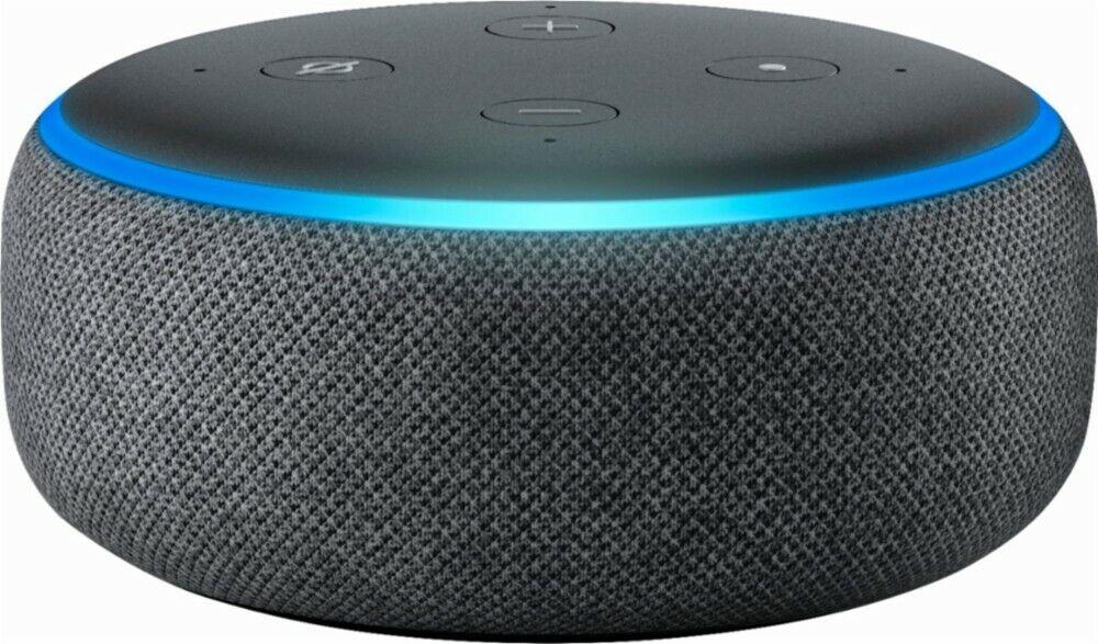 Amazon Echo Dot 3rd Generation w/ Alexa Voice Media Device -