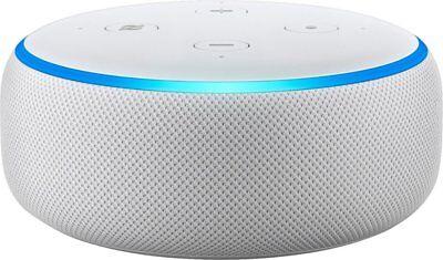 Brand New Sealed Amazon Echo Dot with alexa White 3rd generation Sandstone white