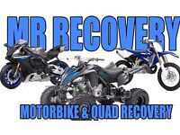 Motorbike and quad recovery 24/7
