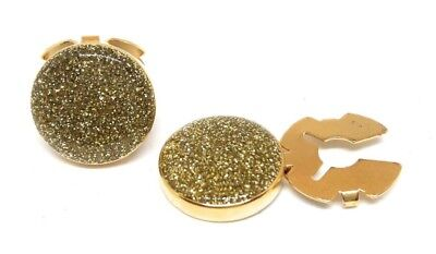 GOLD DUST BUTTON COVER   CUFF ENHANCERS  MANUFACTURERS DIRECT PRICING