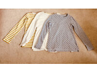 Lovely Girls Tops X 3 Age 10 (Next & Tu)