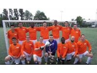 MENS SUNDAY 11 ASIDE FOOTBALL TEAM LOOKING FOR PLAYERS, JOIN LOCAL SOCCER TEAM