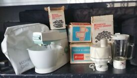 Kenwood Food mixer and attachments