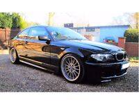 BMW E46 330Cd M Sport Sapphire Black 6 Speed Manual*Lots of new parts*Good Offers welcome*