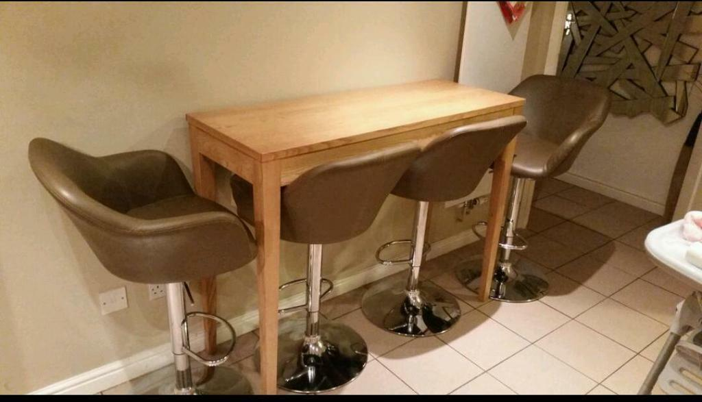 John lewis miso high legs breakfast bar table in  : 86 from gumtree.com size 1024 x 587 jpeg 59kB