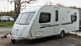 2010/11 SWIFT CHALLENGER 540, 4 BERTH (FIXED DOUBLE BED) WITH MOTOR MOVER!