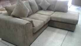 Brand newe dfs jumbo corner sofa back