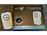 BT 11ac Broadband Wi-Fi Extender 1200