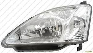 Head Light Driver Side Hatchback Honda Civic 2002-2003