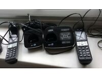 BT 8500 Twin Digital Cordless phones and answering machine