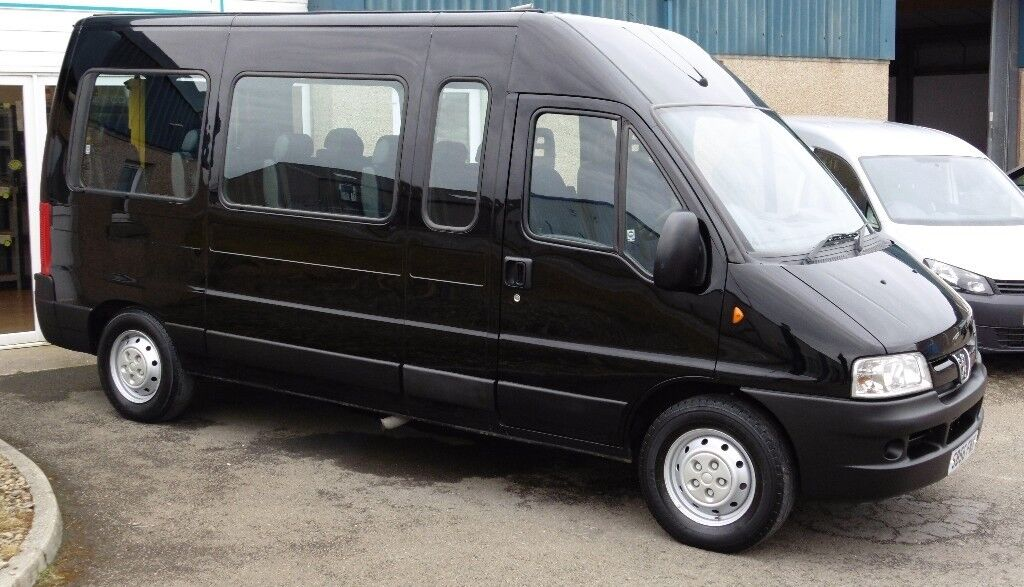 2007 Peugeot Boxer Minibus 15 Seats, Wheelchair Ramp ** Only 58,000 Miles **