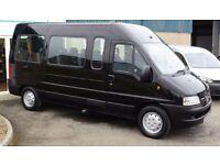 2007 Peugeot Boxer Minibus 15 Seats, Wheelchair Ramp ** Only 58,000 Miles **