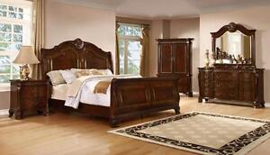 6 PC QUEEN/KING BEDROOM SETS ON SALE (AD 98)