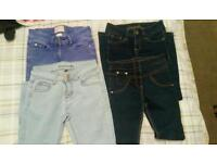 Age 7-8 years girls jeans