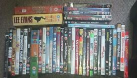 job lot over 120 dvds for sale