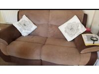 2 x 2 recliners sofas