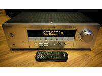 Yamaha RX-V357 natural sound home cinema amplifier tuner remote control