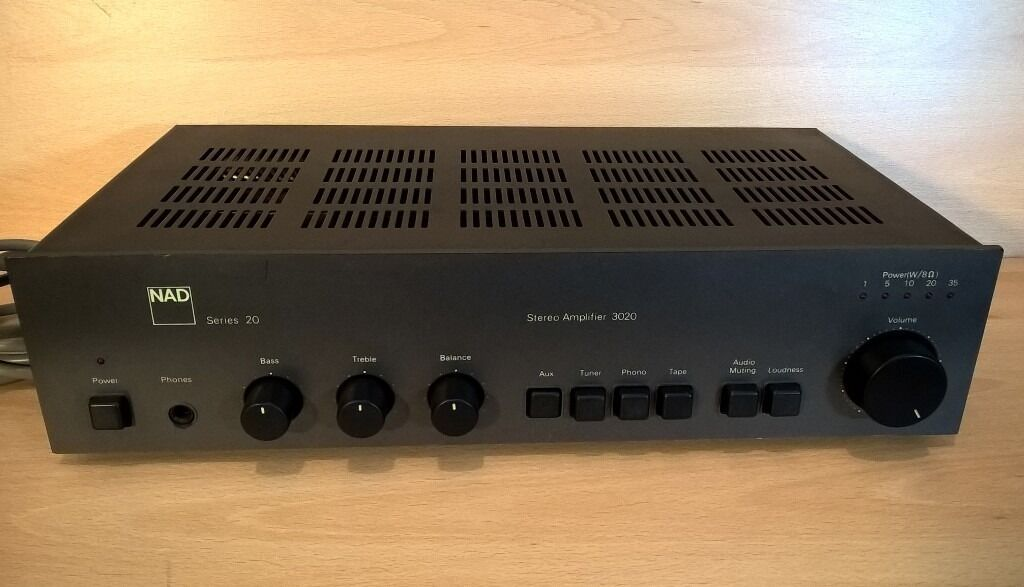 NAD 3020 Series 20 Stereo Integrated Amplifier