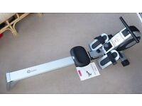 Crane Sports Magnetic Rowing Machine with variable resistance and computer readout