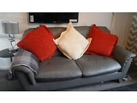 3 Large Chenille Cushions