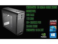Ultra Fast Quad Core Xeon 8GB RAM 1TB HDD Gaming PC/Workstation
