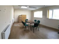 cheap serviced office to let co working space lots of parking manned reception