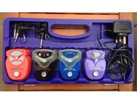 Danelectro Mini Case with four pedals