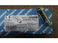 Lindapter Hollo-Bolt M10 size1 fixing thickness 3-22mm