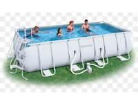 Bestway 4m swimming pool lots included