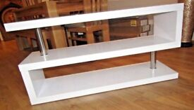 Modern White High Gloss TV Display Cabinet TV Stand BRAND NEW high quality local delivery
