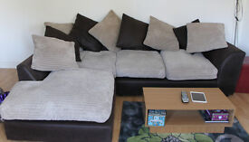 left hand large corner sofa