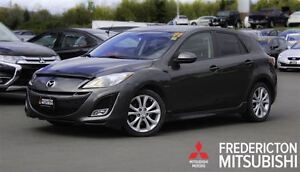 2011 Mazda MAZDA3 SPORT GT! AUTO! HEATED LEATHER! SUNROOF!