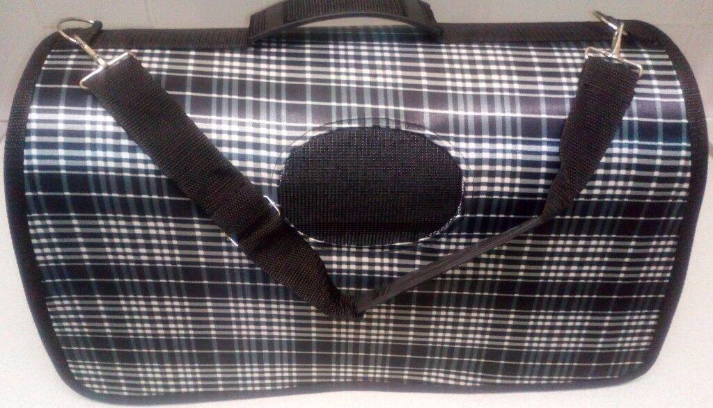Lizimandu Pet Travel Carrier Portable Comfort Bag for Small Dogs, Cats and Puppies TARTAN