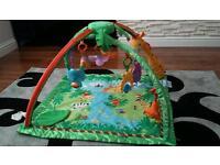 Fisher Price Rainforest Baby Gym Playmat.
