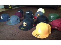 New era Caps Snapbacks/fitted £15 each
