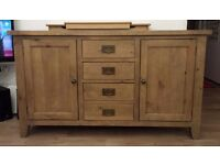 Rustic Coast Eco-Friendly Recycled Pine Sideboard £200.00. REDUCED!!!