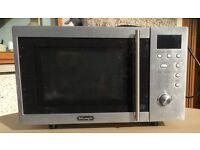 De Longhi 800 watt microwave