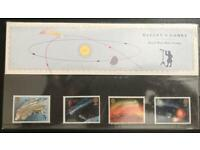 Royal Mail Mint - Halley's Comet - Special Edition Collectors Stamps