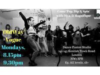 OldWay Vogue Dance Class! #NWOpen