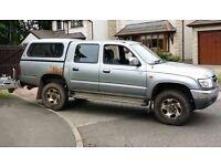 2002 Toyota Hilux MOT Failure NO BREAKING