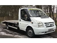 FORD TRANSIT 2.4 T430EF Recovery Truck,NO VAT,New 16ft Body,New Engine,Clutch,Turbo,Flywheel,1YR MOT